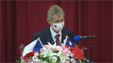不顧北京反對!「訪台是做正確的事」 捷克議長韋德齊:是我們遲到了