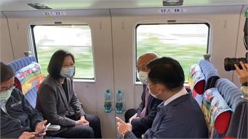 南迴鐵路電氣化今通車 蔡總統分享私房景點