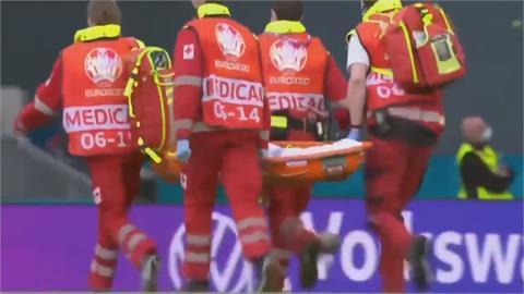 歐洲國家盃足賽意外 丹麥艾瑞克森突倒地 送醫後恢復意識