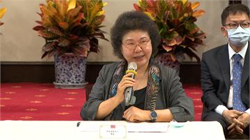 快新聞/監院人事案過關 陳菊:面對我的責任「將會全力以赴」