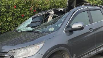國道曳引車車輪突脫落 直砸對向車釀死傷