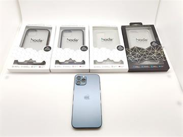 3C/顏值保護兼顧 hoda iPhone 12 Pro 柔石/晶石玻璃 軍規防摔殼 開箱