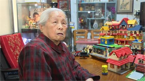 快新聞/一玩30年!新竹92歲樂高阿嬤憑回憶蓋出兒時三合院