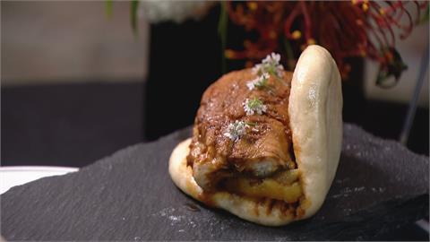 鰻魚取代醬油滷肉 鰻魚刈包飄茶香