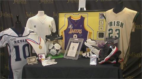 500多項球星紀念物拍賣 詹皇高中球衣估千萬
