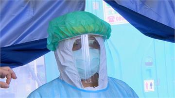 輔大醫院提升防護層級!急診人員戴N95口罩、護目鏡