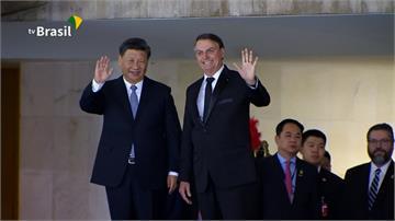 全球/美中貿易戰夾縫求生 巴西總統喜迎習近平