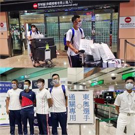 東奧/東奧選手陸續返台 蘇貞昌:加快檢疫、快速通關