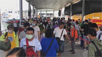 米克拉颱風海陸警齊發 東琉線上午船班仍照常