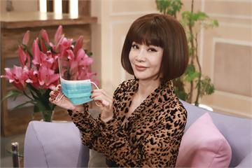 民視《美鳳有約》開工!主持人陳美鳳揮大愛捐贈特殊護眼口罩