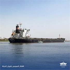 快新聞/長賜輪事件近半年 又有貨輪在蘇伊士運河擱淺
