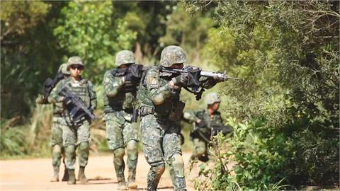 美軍駐台訓練部隊 胡錫進:發動空襲消滅入侵者