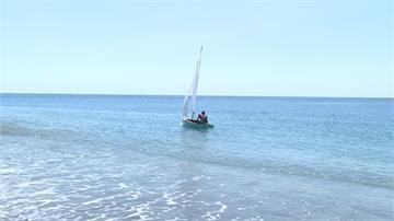 不可能的任務!60歲好手製木帆船不靠划槳環島