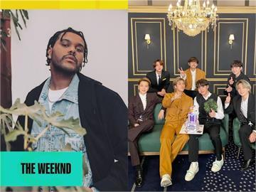 告示牌音樂獎入圍公布!威肯16項提名居冠 BTS入圍4獎創韓團紀錄