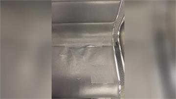座椅破舊補丁 苦苓譏「高鐵要倒了」 高鐵:配合廠商臨時處理會原廠換新