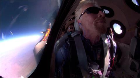 維珍創辦人布蘭森成「太空富豪」!星際漂浮5分鐘講「超勵志」名言