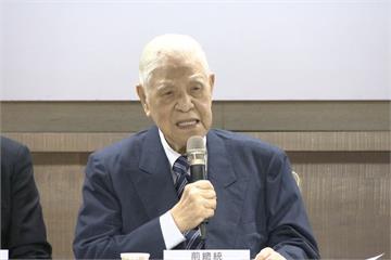 力挺喜樂島 李登輝:推正名制憲、台灣正常化