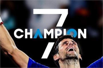 澳網決賽/喬克維奇直落三勝納達爾 七度奪冠寫歷史
