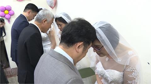 百歲人瑞夫妻慶70年白金婚 市議員現身送祝福