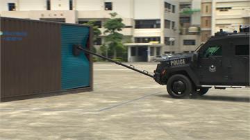 首度亮相!電影《神鬼認證》反恐裝甲車 在台灣重磅登場