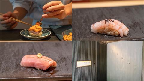 美食/台北壽司 二階割烹 Nikai|隱藏於忠泰美術館二樓 魚肉與醋飯搭配更帶出魚肉的鮮甜