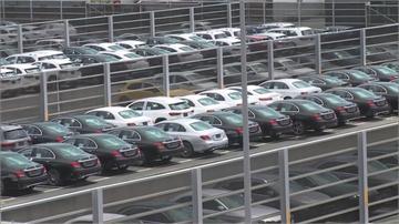 報復性消費出籠!  台中港碼頭停滿高檔名車 價值逾87.3億