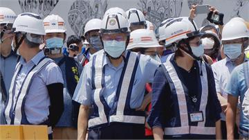 柯文哲視察萬大線工地 兩度提「洪仲丘案」警告預防中暑