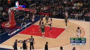 NBA/畢爾狂轟55分仍不夠 公鹿延長賽險勝巫師