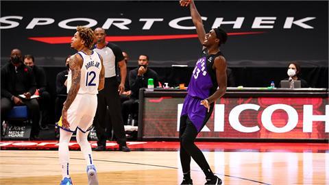 NBA/柯瑞臨時決定不打 勇士崩盤慘敗暴龍53分