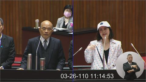快新聞/一身潮服「不是新疆棉」! 吳思瑤立院時裝秀: 台灣好產品要走向國際