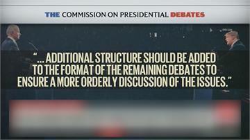 川普拜登辯論脫軌互罵 下一場擬關麥克風