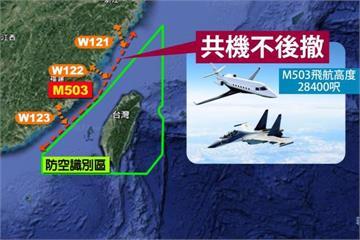 中國早食言!3年前M503開通軍機未後撤
