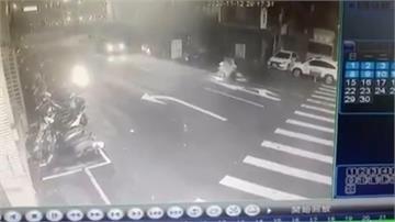 轎車逆向害自摔 未經同意離開涉肇逃