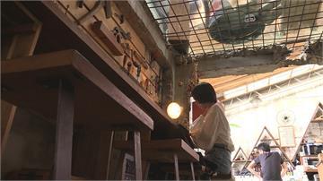 廢棄倉庫獲新生 樂團主唱打造人氣咖啡館
