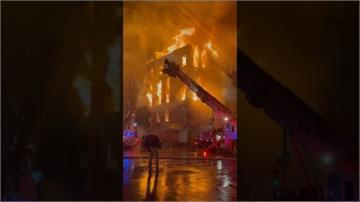 每當總統就職和逝世「自由鐘」就會敲響...紐約128年老教堂嚴重燒毀