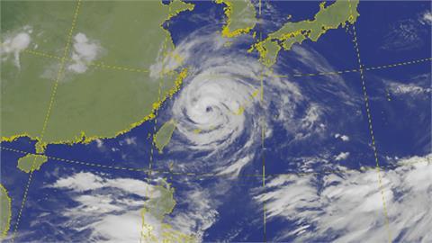 「烟花」閃過台灣! 北部海面掠過 11:30解除海警