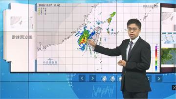 快新聞/輕颱「閃電」持續遠離 東北風接力「北部、東半部」防大雨