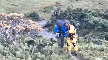 男獨攀南湖大山高山症發作!頭暈呼吸困難 直升機救援