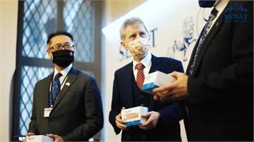 快新聞/發文感謝台灣贈5千份武肺快篩試劑 韋德齊:台捷交流未來不會僅限防疫