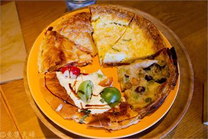 【食記】神奈川 港未來 橫濱 午餐的美式派吃到飽 Pie Holic パイ ホリック 中午 必吃 推薦