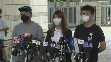 去年6.21包圍香港警總  黃之鋒否認全部控罪
