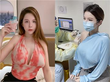 「兇版李毓芬」露香肩中國打疫苗!網酸:打了1劑沒用的科興疫苗