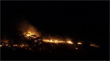 墾丁山坡晚間傳火警 消防局一小時內撲滅
