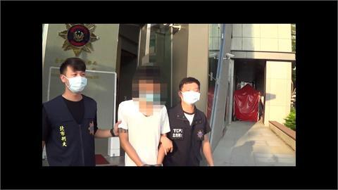 自PO持槍照嗆「萬華大戰」 遭警搜出槍枝毒品