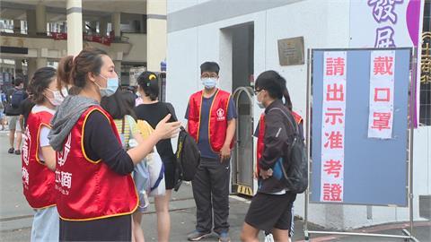 疫情升溫!週六日國中會考  禁陪考.試場通風.應試戴口罩