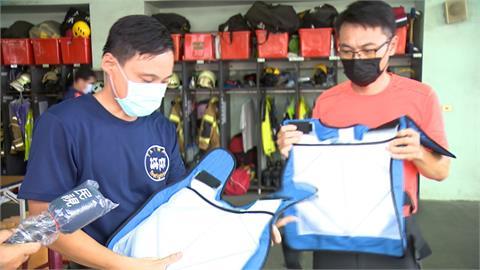 防熱衰竭! 台南採購保冷背心 配發專責載送隊