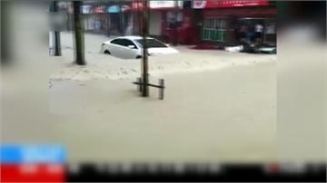梅雨季釀災 中國南方土石流、大淹水