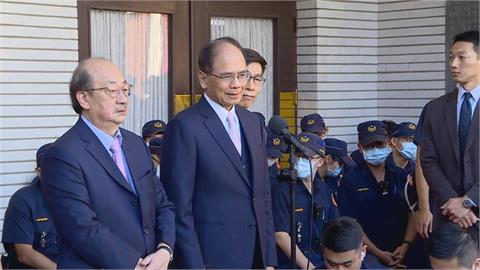 快新聞/捨不得但必須接受! 游錫堃盼陳柏惟為深化台灣民主繼續努力