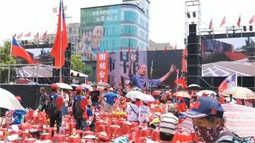 郭台銘先卡位!韓國瑜新竹造勢變「看板大戰」