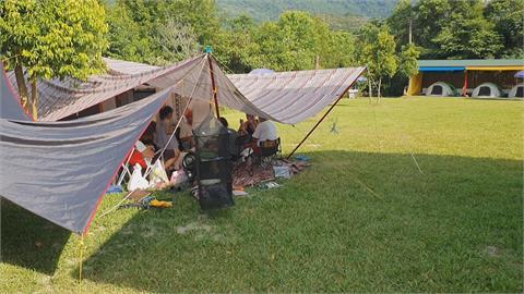 「戶外」不再無風險!  全國三級警戒 露營區預定帳位全退光